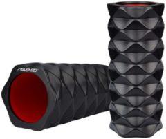 Avento Massage Roller Foam - Profiel - Zwart/Roze