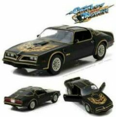 "Groene Pontiac Trans Am ""Smokey and the Bandit""1977 Zwart / Goud 1-18 Greenlight Collectibles"