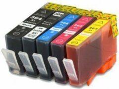 Cyane HP364 Compatible inkpatronen MediaHolland Set van 5 stuks XL