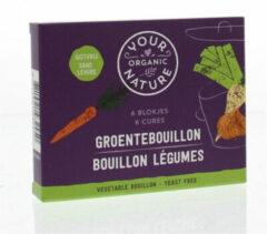 Your Organic Nat Groentebouillon zonder gist 66 Gram