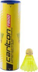 Gele Carlton Badminton Shuttles T800 High Visibility (6-pack)