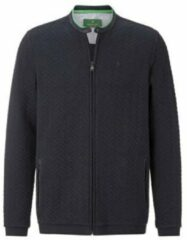 Charles Colby sweatvest ANNTHONY Plus Size donkerblauw