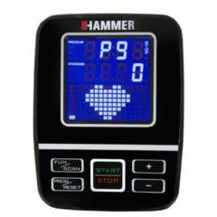 Zilveren Hammer Fitness Hammer PRO FORCE Roeitrainer - 21 trainingsprogramma's - met hartslag