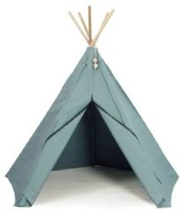Groene Roommate - Play Tent Hippie Tipi - Sea Grey (1002858)