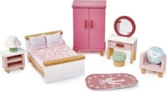 Roze Tenderleaftoys Meubeltjes Slaapkamer Poppenhuis - Tender Leaf Toys
