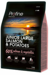 Profine Junior Large Breed - Hondenvoeding - Zalm & Aardappel - 3 kg