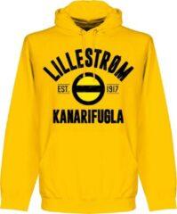 Retake Lillestrom SK Established Hoodie - Geel - M