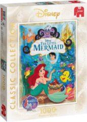 Blauwe Jumbo Disney Classic Collecton Ariel Puzzel Premium Collection Puzzel 1000 Stukjes