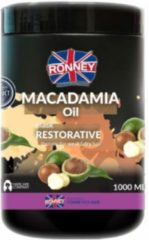 Ronney Professional Mask Macadamia Oil Restorative Therapy For Weak And Dry Hair 1000 ml