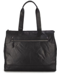 Spikes & Sparrow Shopper / Schoudertas 14'' Zwart