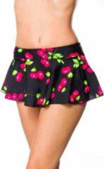 Belsira Bikinirokje -XL- 50193 Zwart/Roze