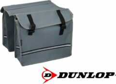 Dunlop Dubbele Fietstas - Grijs - 26 liter