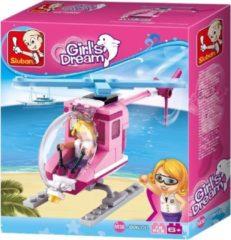 Sluban Bouwstenen Girls Dream Serie Strandhelikopter Bouwstenen Girls Dream Serie Strandhelikopter
