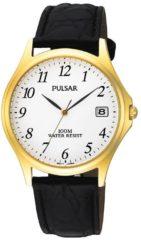 Pulsar PXH566X1 horloge heren - zwart - edelstaal doubl�