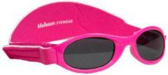 Melleson Eyewear kinderzonnebril Juul met band 0 - 3 jaar - maat S - roze