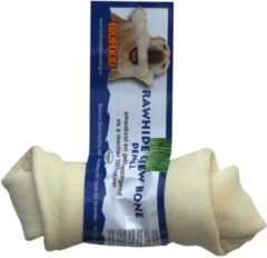 Biofood Kauwkluif Rawhide Dental - Knoop - Small