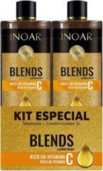 Inoar Keratine Inoar Blends Shampoo & Conditioner 1000 ML