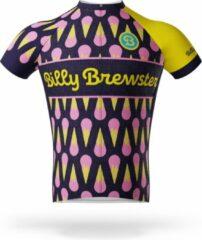 Blauwe Billy Brewster - Lots of Ice Cream wielershirt - Fietsshirt Heren - maat M