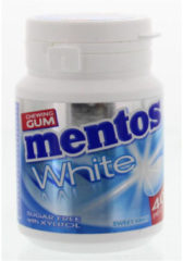 Mentos Gum Sweetmint White Pot (40st)