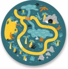 Ses Creative Speelmat Safari Junior 30 X 20 Cm Groen 7-delig