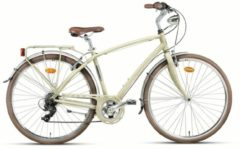 Montana Bike 28 Zoll Herren City Fahrrad Montana Lunapiena 7... sand, 54cm
