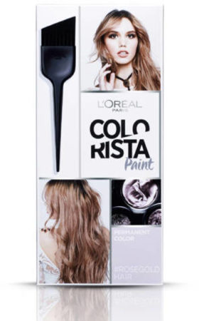 Afbeelding van L'Oréal Paris Loreal Colorista Paint - Rose Blonde - Permanente Haarkleuring (1set)