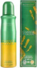 Morfose - Change Colour - Haarspray - Haarkleur Spray - Groen naar Geel