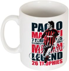 Witte Re-take Paolo Maldini Legend Mok