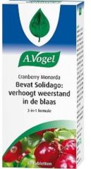 A.Vogel Cranberry Monarda voedingsupplement - 30 tabletten