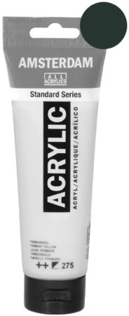 Afbeelding van Zwarte Royal Talens Standard tube 120 ml Oxydezwart dekkende acrylverf oxyde zwart