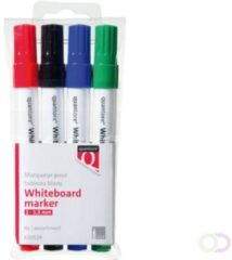 Rode Quantore Whiteboardmarker Rond 3mm Rond Assorti (630539)