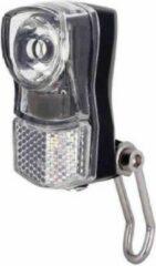 Zwarte Edge Swift 2.0 koplamp fiets 1 led met reflectie incl batterijen