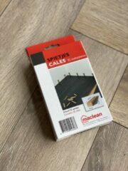 Bruine MacLean Houten Spietjes - Wiggetjes - Voor laminaat en parket vloeren plaatsen - Afstandhouders - Per doos 32 st.