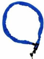 Blauwe Merkloos / Sans marque Kettingslot Met 2 sleutels voor brommer - scooter of fiets