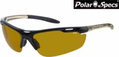 Zilveren Polar Specs® High Definition Contrast Velocity Sport PS9041 – Silver Frame – Polarized HD Daytime – Medium – Unisex