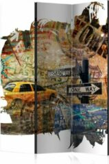 Kamerscherm - Scheidingswand - Vouwscherm - New York Collage [Room Dividers] 135x172 - Artgeist Vouwscherm