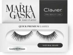 Clavier - Quick Premium Lashes rzęsy na pasku Gentlewowman 803