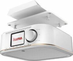 Witte Hama DR350 Radio base component FM AUX White