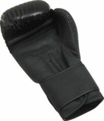 Zwarte Dynamite Fight Gear Dynamite Kickboxing Bokshandschoenen - Synthetisch Leer 6 OZ