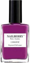 Paarse Nailberry L'Oxygéné Nagellak 12 Free - Extravagant
