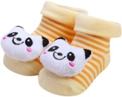 Mooistar2 #4022D Cartoon Newborn Baby Girls Boys Anti-Slip Socks Slipper Shoes Boots