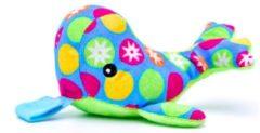 Blauwe JillyBee - Knuffelspeen - Knuffel - Speen - Walvis - Multicolor