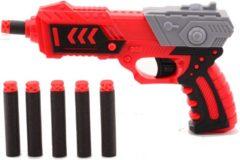 TackPro Tack Pro Pocket 2 6 Darts Blaster 19 cm Zwart/Rood (darts incl)