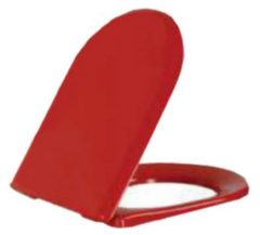 Rode Douche Concurrent Toiletbril DC3031KO Softclose Toiletzitting Rood