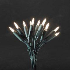 Konstsmide 6304-100 Mini-lichtketting Binnen Energielabel: LED werkt op het lichtnet 100 stuks LED Warm-wit