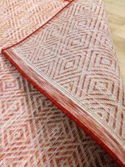 Pergamon In- und Outdoor Teppich Beidseitig Flachgewebe Hampton Terrakotta... 120x170 cm