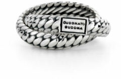 Buddha to Buddha Ring Ben Double Maat 20 zilver 607