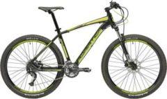 27,5 Zoll Herren Mountainbike 27 Gang Adriatica Wing... schwarz-gelb, 46cm