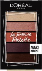 L'Oréal Paris Make-Up Designer La Petite Palette - 01 Maximalist - Mini Oogschaduw Palette met 5 Warme Kleuren Oogschaduw