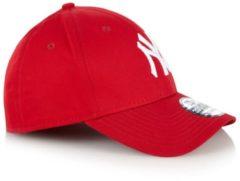 Rode New Era New York Yankees 39THIRTY Pet - Red/White - Mens, Red/White